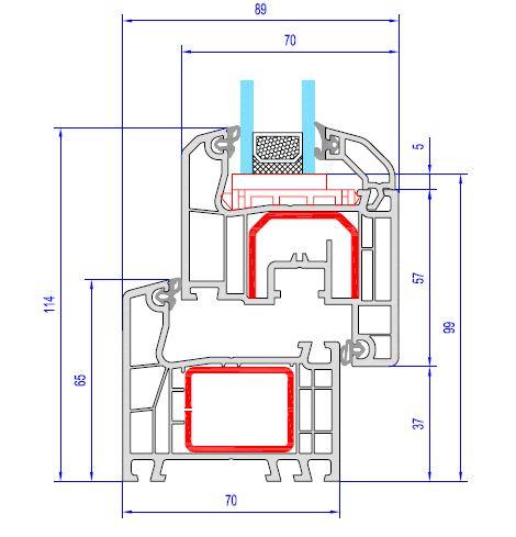 fen tre pvc aluplast id al 4000. Black Bedroom Furniture Sets. Home Design Ideas