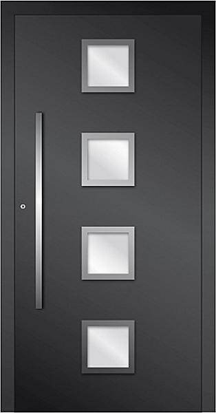 porte extérieure en aluminium - conseptfen