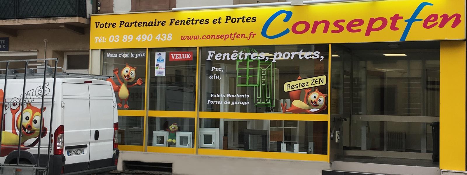 Conseptfen fenêtres Portes Portails à Horbourg Wihr